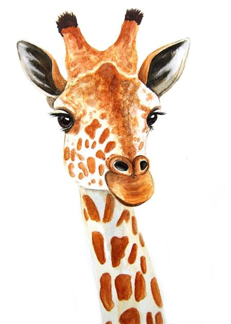 Giraffe Portrait 01 Diamond Painting Kit - Diamond Painting Corner