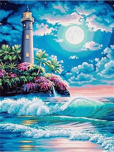 Lighthouse 07 Diamond Painting Kit - Diamond Painting Corner