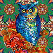 Owl Mandala 01 Diamond Painting Kit - Diamond Painting Corner