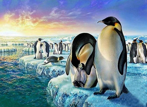 Penguin Colony - Diamond Painting Corner