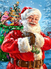 Santa Claus 05 Diamond Painting Kit - Diamond Painting Corner
