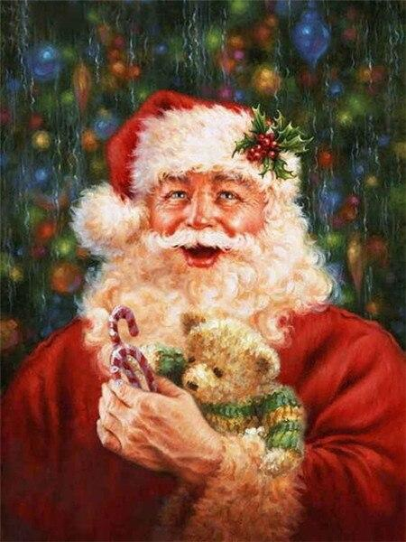 Santa Claus 12 Diamond Painting Kit - Diamond Painting Corner