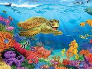 Smiling Turtle Diamond Painting Kit - Diamond Painting Corner