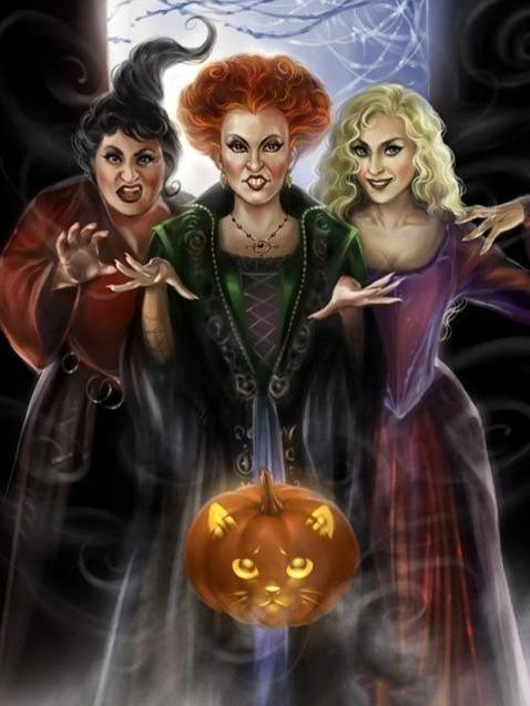 Three Witches Diamond Painting Kit - Diamond Painting Corner