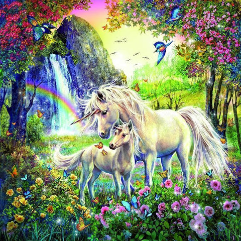 Unicorns Paradise - Diamond Painting Corner