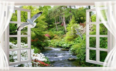 Window with Views 10 Diamond Painting Kit - Diamond Painting Corner