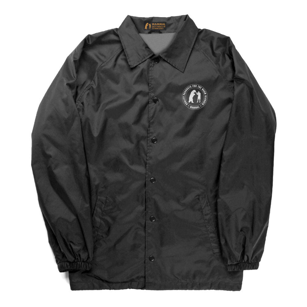 Drop Out Coaches Jacket (Black)