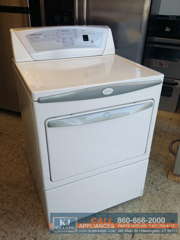 Whirlpool Electric Dryer with Wrinkle Shield and Sensor Drying (BISQUE)