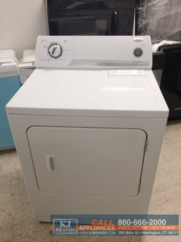Whirlpool Heavy Duty Electric Dryer with Automatic Dry (WHITE)