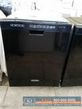 "KitchenAid 24""(in.) Built-In Front Control Dishwasher (BLACK)"