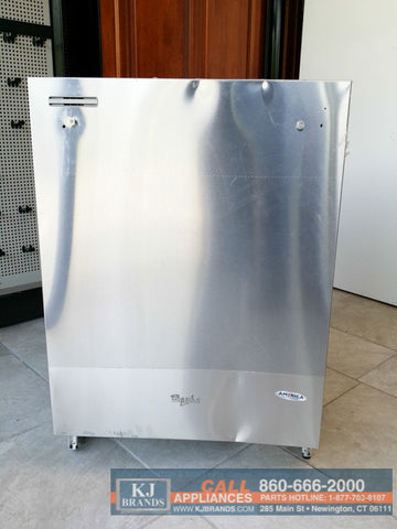 "WHIRLPOOL 24""(in.) Built-In Top Control Dishwasher (Stainless Steel)"