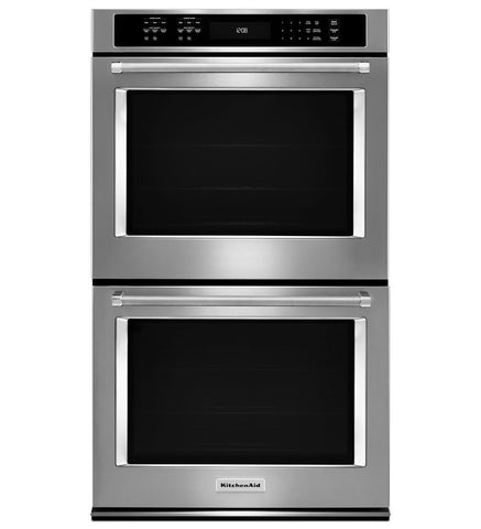 "KITCHENAID 30"" Double Wall Oven with Even-Heat™ True Convection (Upper Oven) KODE500ESS/01 ***NEW/SCRATCH & DENT***"