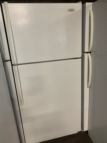 WHIRLPOOL TOP FREEZER REFRIDGERATOR ..