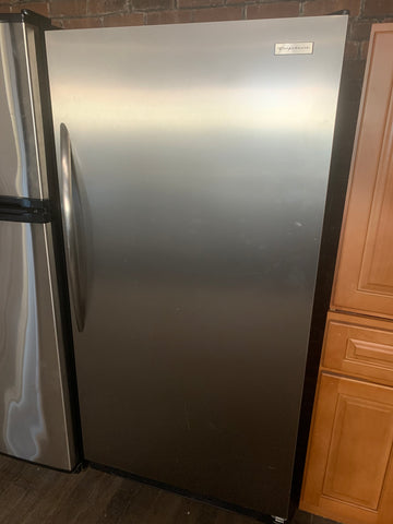 FRIGIDAIRE STAINLESS STEEL BUILT IN REFRIGERATOR..