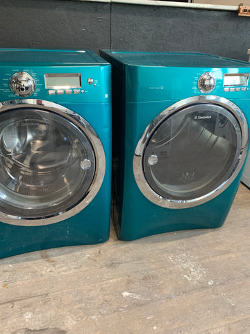 ELECTROLUX FRONT LOAD WASHER & ELECTRIC DRYER SET..