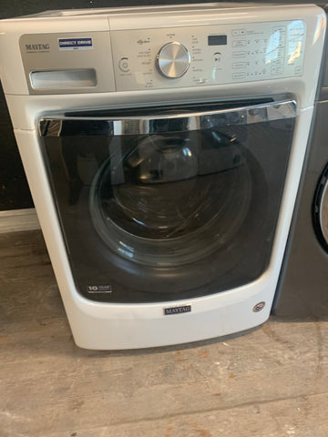 MAYTAG FRONT LOADING DIRECT DRIVE WASHER..
