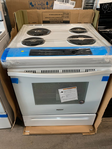 WHIRLPOOL GUIDED  ELECTRIC FRONT  COIL TOP RANGE..NEW..