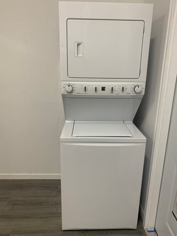 KENMORE TOP LOAD WASHER AND ELECTRIC DRYER COMBO UNIT LAUNDRY CENTER..417.61722510