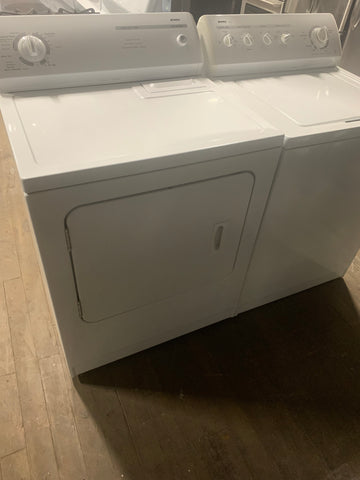 KENMORE TOP LOAD WASHER AND ELECTRIC DRYER BUNDLE..