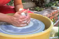 Throwing A Bowl On A Wheel - Beginning Lesson