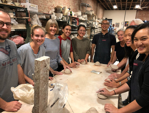 Pottery classes in Los Angeles, ceramic supplies rental and