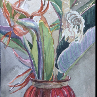 Watercolor, all levels, Tuesdays, 12-2 pm