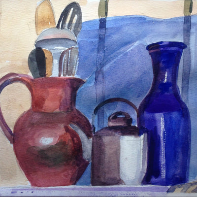 Watercolor, all levels, Tuesdays, 11-1 pm
