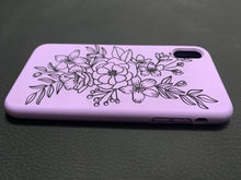 Load image into Gallery viewer, Custom engraved silicone phone case