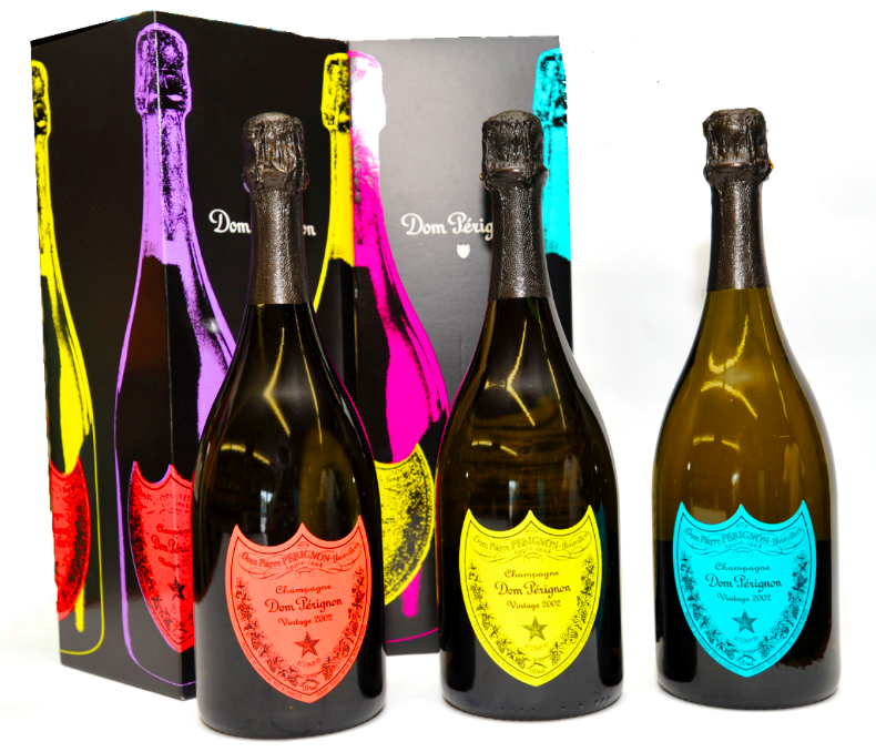 Dom Perignon Andy Warhol The Collection 2002