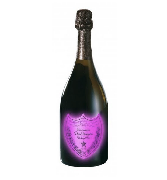 Dom Perignon Luminous Label Rosé 2000 75 cl