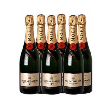 6 x Moët Chandon Imperial Brut 75 CL