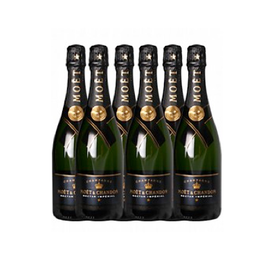 En Kasse - Moët Chandon Nectar 75 cl