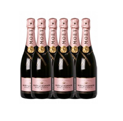 En Kasse - Moët Chandon Rosé 75 cl