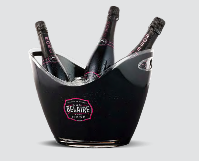Luc Belaire Rose - Limited Edition Champagne Spand