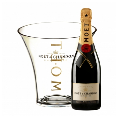 1 x Moët & Chandon Brut 70cl + 1 x Moët Champagne Ice Bucket