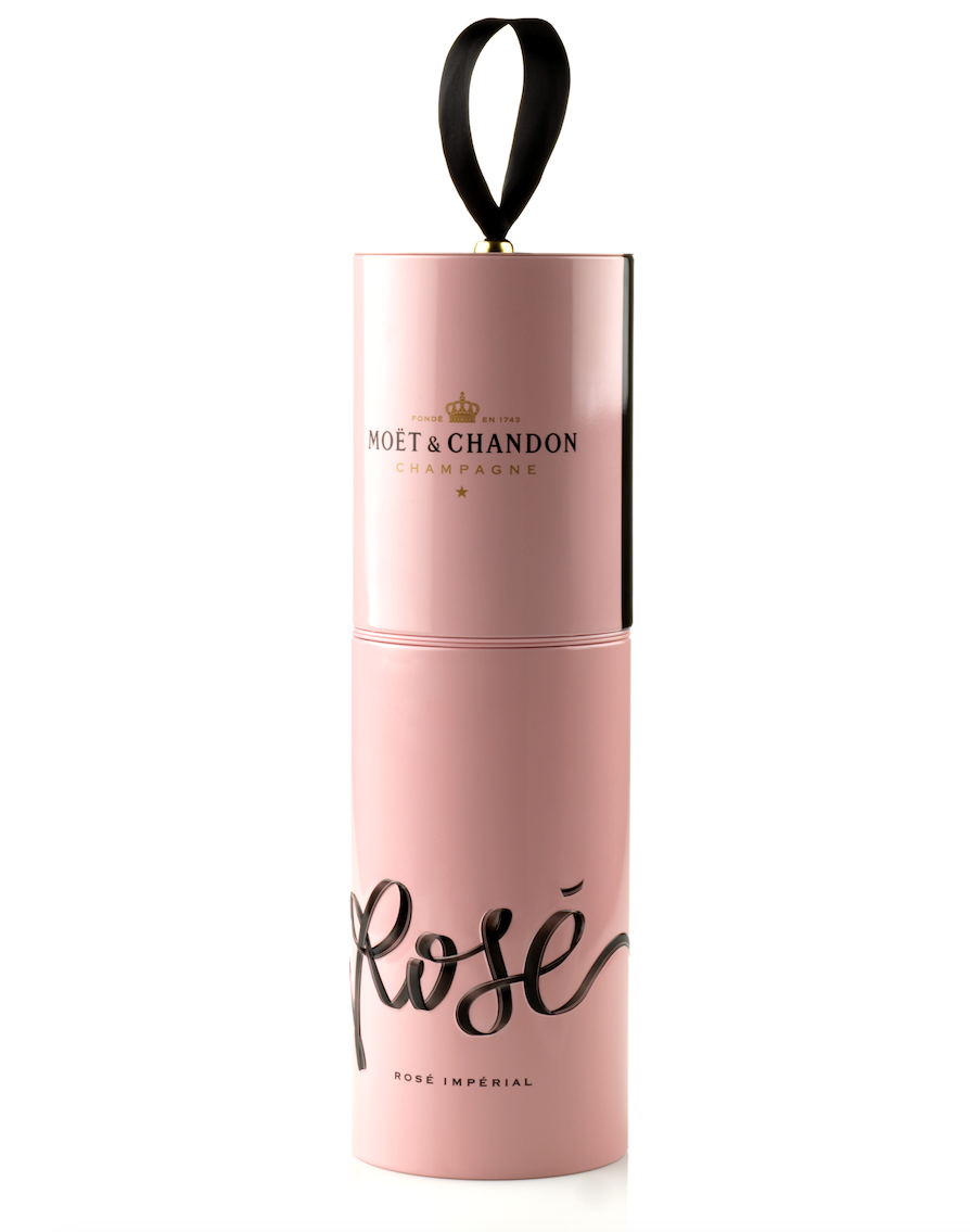 Moët & Chandon Rosé Black Tie Box 75 Cl