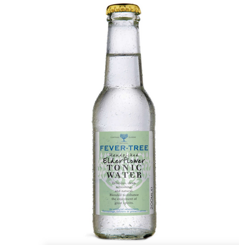 24 x Fever-Tree Elderflower Tonic Water