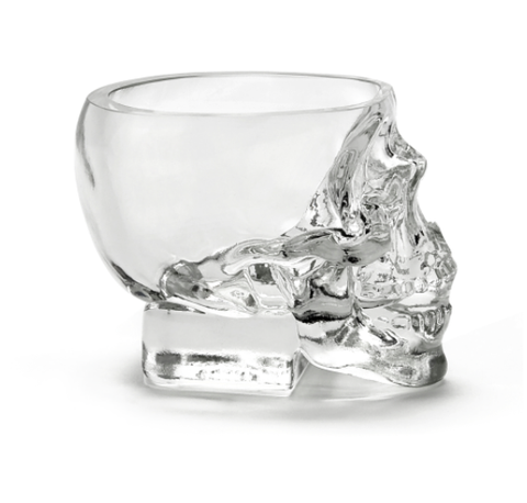 Crystal Head Vodka Shotsglas
