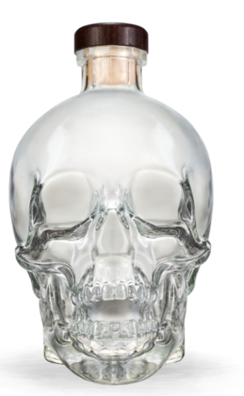 Crystal Head Pakken - Crystal Head 70cl + Shotsglas