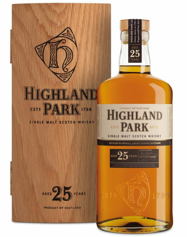 Highland Park Single Malt 25 års Whisky 47,5%