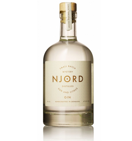 Njord Distilled Sun & Citrus Gin 50cl