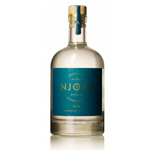 Njord Distilled Mother Nature Gin 50cl