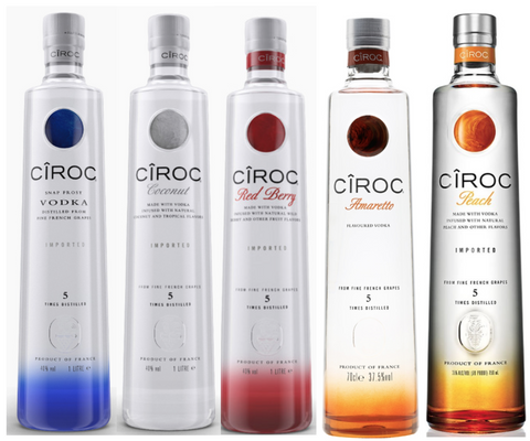 Ciroc Love Pakken - 5 x 70 Cl