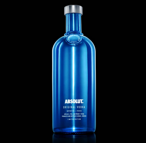Absolut Vodka Electrik Blue - 70cl