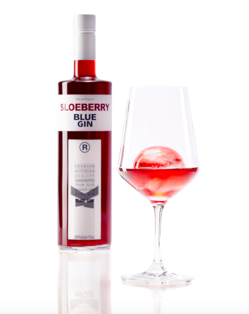 Sloeberry Blue Gin 75cl