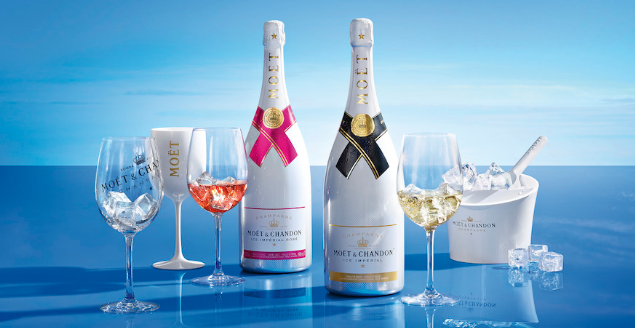 6 x Moët & Chandon Ice Impérial Rosé 75 Cl