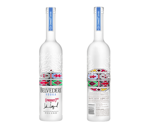 Belvedere Pure Vodka Red Limited Edition MAGNUM 1,75L