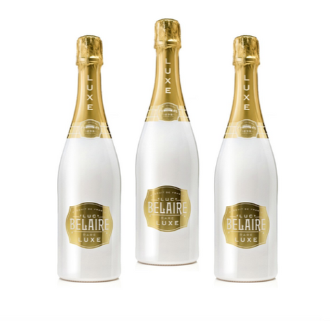 3 x Luc Belaire LUX 75 Cl - LIMITED EDITION