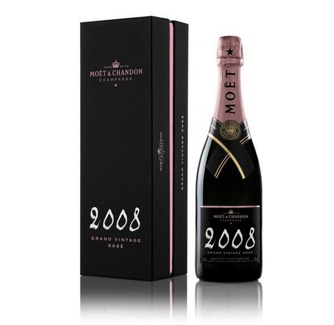 Moët & Chandon Grand Vintage Rose 2008 75CL