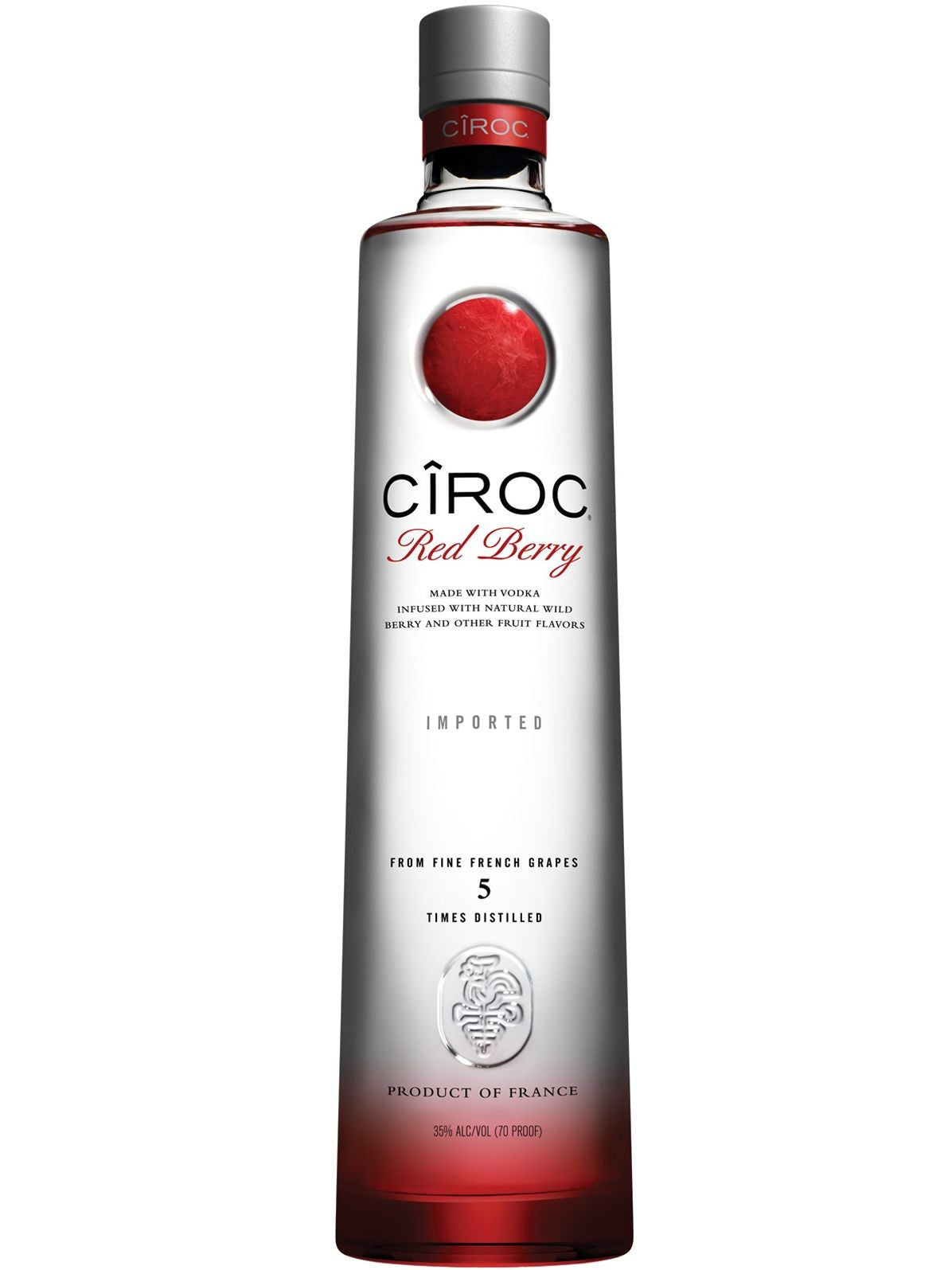 Ciroc Red Berry Vodka 70 Cl
